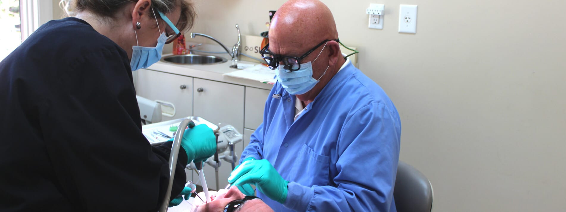 Doctors Working on Teeth